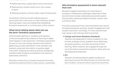 3 Reasons savvy leaders prioritize formative assessment