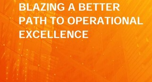 Asset Performance Management: Blazing A Better Path to Operational Excellence