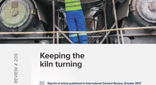 Keeping the kiln turning
