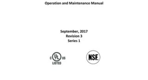 [Manual] LabGard AIR Limited NU-545 Class II, Type A2 Biosafety Cabinet