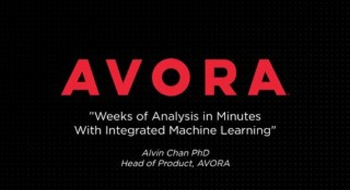 Weeks of Analysis in Minutes With Integrated Machine Learning - Alvin Chan, Big Data LDN