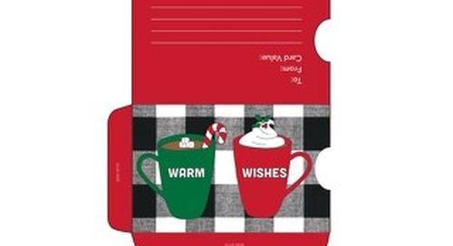 DIY Holiday Gift Card Sleeves