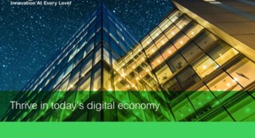 Thrive In Today's Digital Economy
