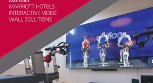Marriott Hotels Interactive Video Wall Solutions