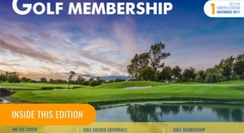 Golf Membership 2017-18 Digital Magazine - Issue 1