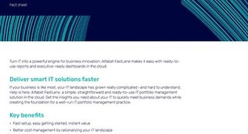 Facts about Alfabet Cloud Basic