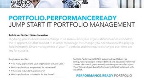 About Portfolio. PerformanceReady