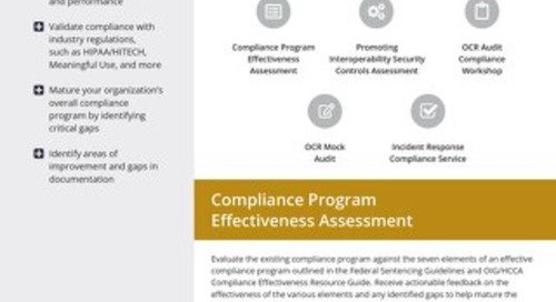 Compliance and Audit Services
