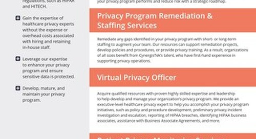 Privacy Services