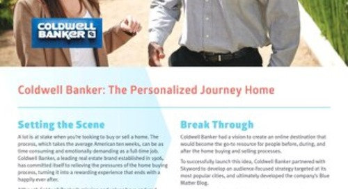 Coldwell Banker - Skyword Case Study