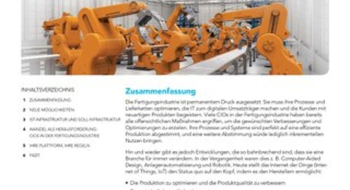 Plädoyer für Connected Manufacturing