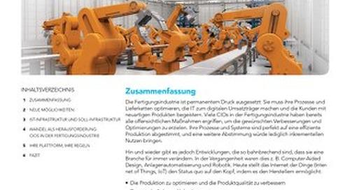 Plädoyer für Connected Manufacturing