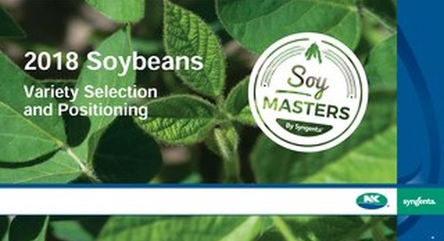 Soybean Variety Selection and Positioning
