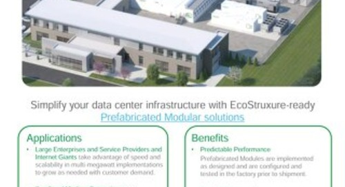 EcoStruxure-ready Prefabricated Data Center Modules