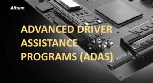 Advanced Driver Assistance Programs (ADAS)