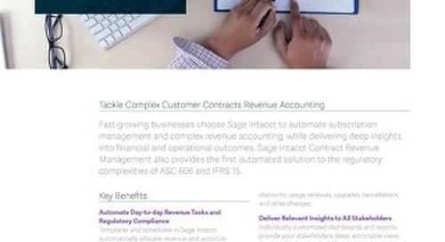 Contract Revenue Management
