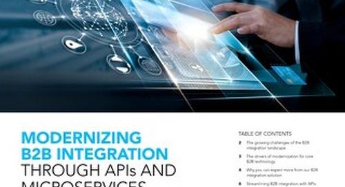 Modernizing B2B Integration
