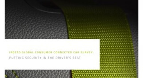 Consumer Survey Connected Cars: Putting security in the driver's seat