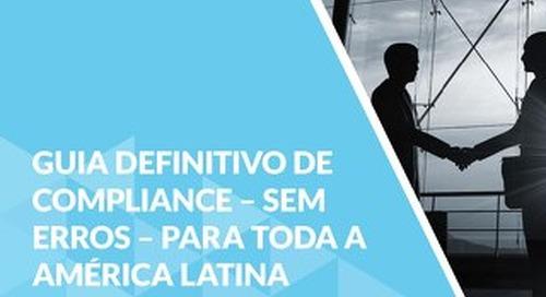Guia Definitivo de Compliance - Sem Erros - Para Toda a América Latina