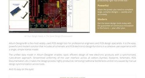 AD18 Product Overview Datasheet