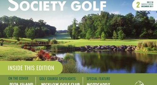 Society Golf Digital Magazine 2017/18 - Issue 2