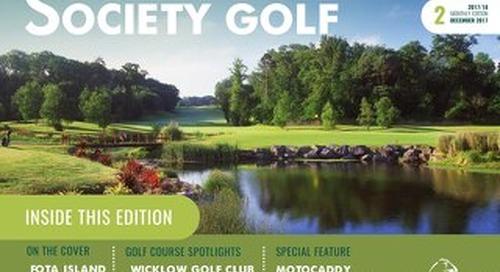 Society Golf Digital Magazine 2017/18 - Issue 2