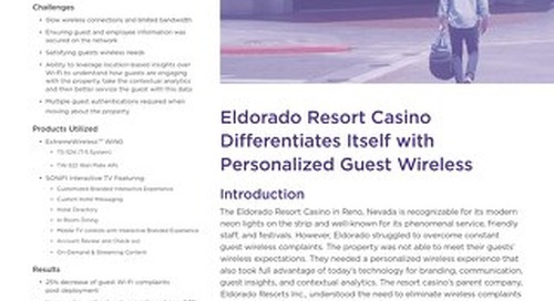 Eldorado Resort Casino Differentiates Itself with Personalized Guest Wireless