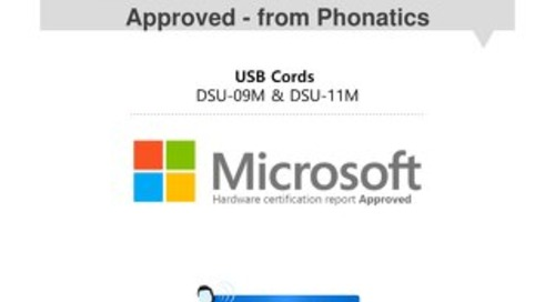 Microsoft Certification: The DSU-09 and DSU-11 USB Adapters [Flipbook]