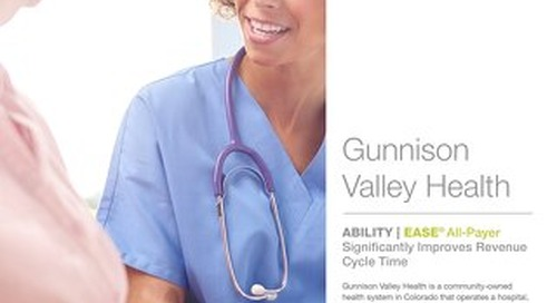 Success Story: Gunnison Valley Health