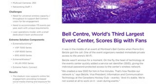 Bell Centre, World's Third Largest Event Center, Scores Big with Fans