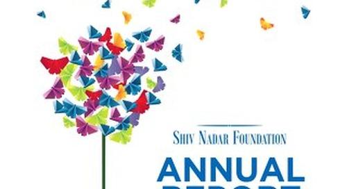 Shiv Nadar Foundation Annual Report 2016-17