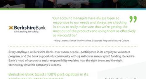 Berkshire Bank - Customer Story
