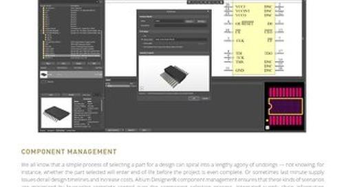 Component Management Datasheet