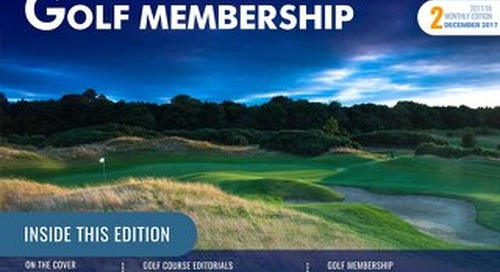 Golf Membership 2017/18 Digital Magazine - Issue 2