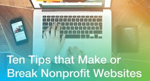 10 Tips That Make or Break Nonprofit Websites