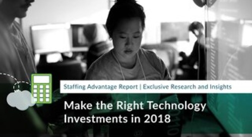 Make the Right Technology Investments in 2018