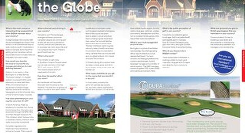 Around the Globe ~ Dean Baker ~ Greenkeeper International Magazine ~ December 2017