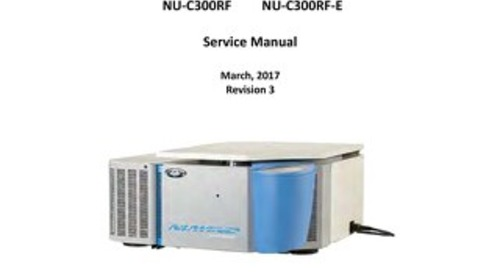 [Manual] NuWind NU-C200 / NU-C300 Series General Purpose Centrifuge Service Manual