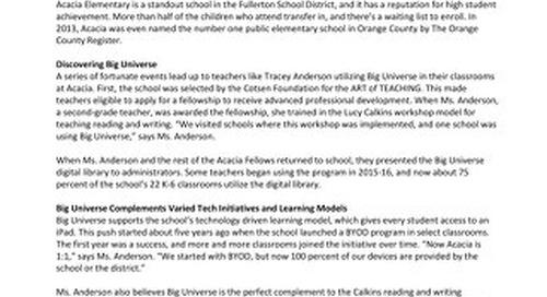 Success Story Fullerton