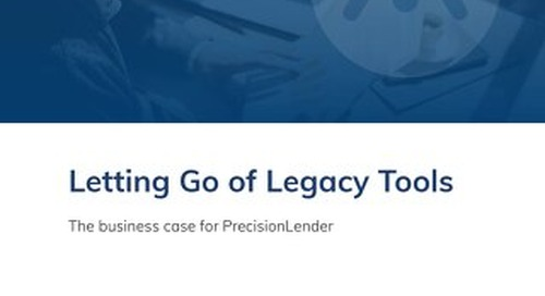 Letting Go of Legacy Tools