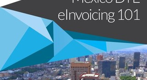 eBook: Mexico CFDI eInvoicing 101