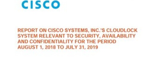 Cloudlock SOC3 Report