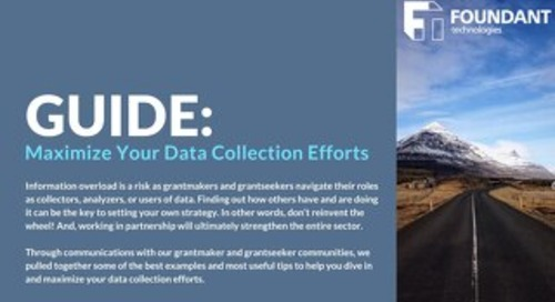 Guide: Maximize Your Data Collection Efforts