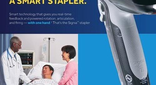 Not Just a New Stapler. A Smart Stapler.