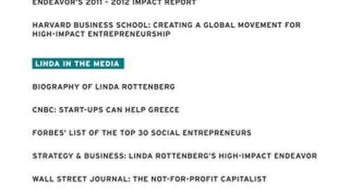 Linda Rottenberg Media Kit