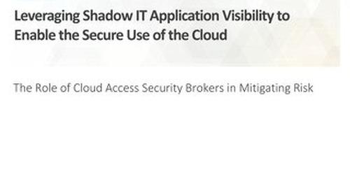 ESG White Paper-CASB Enabling Secure Cloud Use