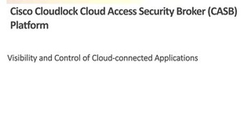 ESG Lab Validation Cisco Cloudlock