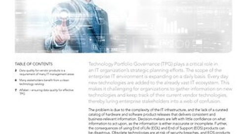 The Importance of Data Quality for TPG