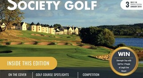 Society Golf 2017/18 Digital Magazine - Issue 3
