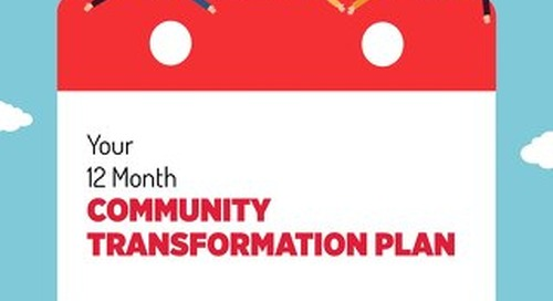 Your 12 Month Community Transformation Plan